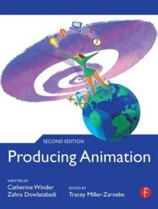 Book cover - producing animation
