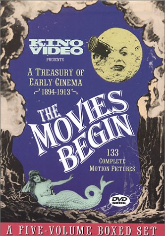 DVD cover - The movies begin