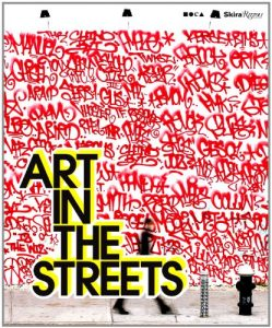 Book cover: art in the streets