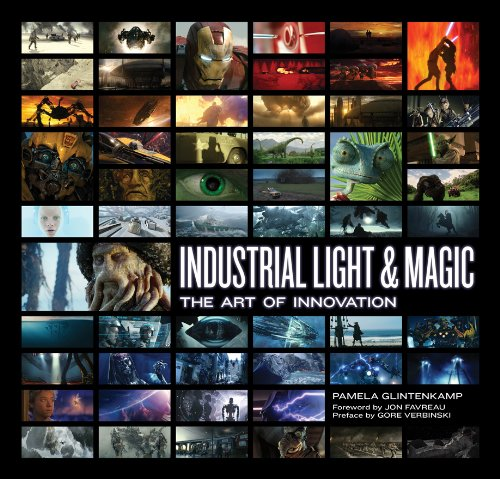 Book cover - industrial light and magic