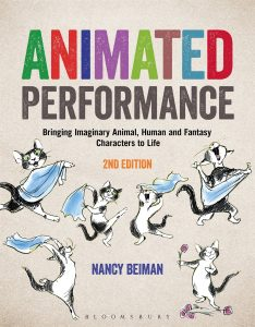 Book cover - animated performance