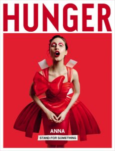 Cover for Hunger magazine