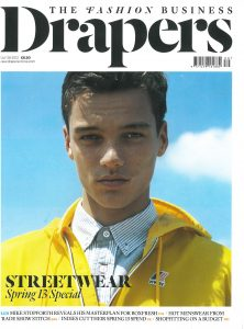 Cover for Drapers magazine