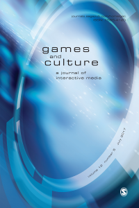 Games and culture magazine