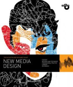 New media design book cover