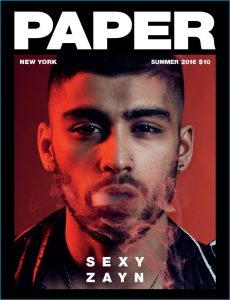 Cover for Paper magazine