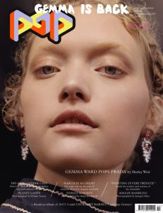 Cover for Pop Magazine