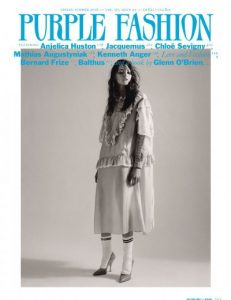 Cover of Purple Fashion Magazine