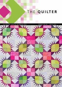 Cover of Quilter Magazine