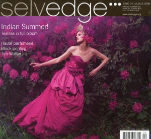 Cover of Selvedge Magazine