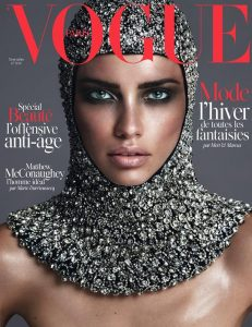 Cover for Vogue Paris magazine