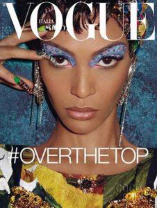 Cover for Vogue Italia magazine