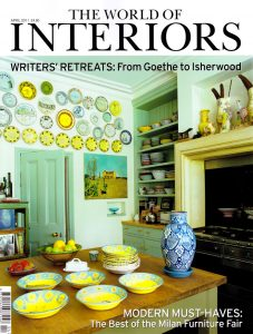 Cover of World of Interiors Magazine