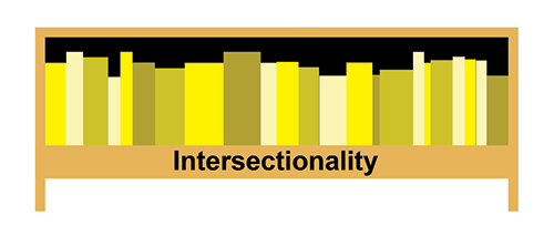 Graphic of Intersectionality shelf