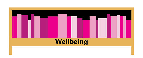 Graphic of Wellbeing shelf