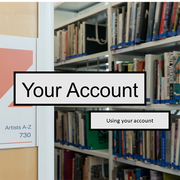 Account, Your - using Your Account